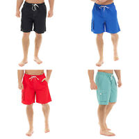 MENS SWIMMING SHORTS HOLIDAY BEACH POOL CARGO FLAP POCKET GENTS SURFING TRUNKS