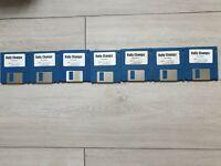 RALLY CHAMPS - Amiga AGA: DISKS 1-7 RARE