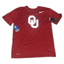 Oklahoma Sooners Nike Men s Legend Logo Dri Fit Shirt Size Medium 5089e7bf1