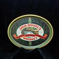 Jack Daniels Tray Metal Whiskey Old No. 7 Barringer Wallis and Manners