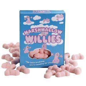 Marshmallow Willies Nouveauté Drôle Blague Sucreries Saint Valentin Secret Santa