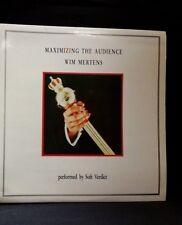 Wim Mertens - Maximizing the Audience - doble LP  EXC /MINT