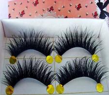 SALE NOW ON!  5 Pairs Long Thick Handmade Makeup Fake False Eyelashes Eye Lashes