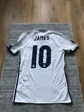 James Rodriguez Matchworn Trikot Real Madrid Spielertrikot