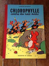 chlorophylle contre les rats noirs EO (1956) avec points tintin côte BDM 500e