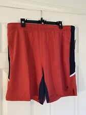 Mens IZOD Advantage Performance UPF-40 Quick Dry Stretch Sport Shorts Sz 2XL NWT