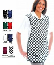 PREMIUM Tabard Tabbard Apron With Pockets Work Wear Overall Catering Cleaning