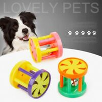 Pet Dog Puppy Cat Bell Ball Chewing Sound Toy Plastic Playing Funny Chew Toys