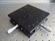"""New listing Newport 400 Series Linear 2 Two Dual Axis X Ystage Positioner .5"""" Micrometer S"""