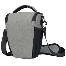 Men DSLR Camera Bag Women Small Shoulder Sling Messenger For Nikon Canon Pentax