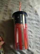 New listing Budweiser 20Oz Tall Travel Tumbler