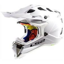 LS2 Subverter Off-Road MX SxS Helmet Shiny Gloss White Large BRAND NEW