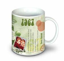 51st BIRTHDAY GIFT - 1967 Coffee   Tea Mug For Men and Women