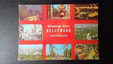 CPM GREETINGS FROM HOLLYWOOD CALIFORNIA