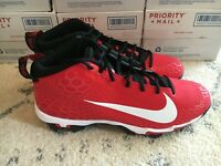 Nike Force Trout 5 Pro Keystone Mens Size 12 Baseball MCS Cleats Red AJ9253-601