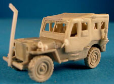 Milicast BA30W 1/76 Resin WWII US Jeep with inclement Weather kit