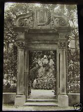 Glass Magic lantern slide SEEBURG OLD GATEWAY C1910 SWITZERLAND L65