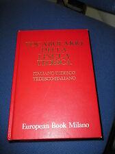 European Book Milano - VOCABOLARIO DELLA LINGUA TEDESCA (1983)