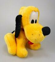 Pluto Plüsch Figur sitzend ca. 23 cm  Disneyland Walt Disney World Vintage
