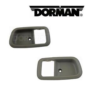 2PCS DORMAN Front Interior Door Handle Surround Fit 2000-2006 Toyota Tundra
