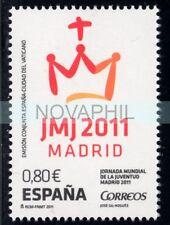 SPAGNA 2011 -  GIORNATA GIOVENTU'  CONGIUNTA CON VATICANO **
