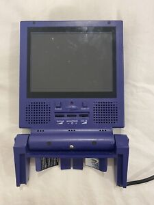 """Intec Gamecube 5.4"""" LCD Screen Purple. Tested Works Great + Power Cord W/pics"""