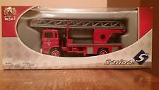 Solido Toner Gam II Renault Echelle Aerial Ladder Fire Truck #3166,1:50 Diecast