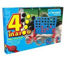 Kingfisher 4 in a Row Giant Garden Indoor Outdoor Patio Game
