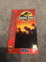 Jurassdic Park Genesis Booklet