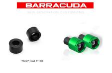 Barracuda contrappesi verdi universali + adattatori Triumph
