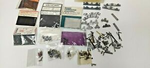 4mm White metal Job Lot in Packs & Loose Model Trains Spare Parts buffers etc.