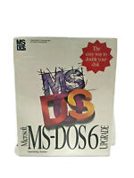 NOS Genuine Microsoft MS-DOS 6 Operating System Upgrade Disks PC enthusiast NEW