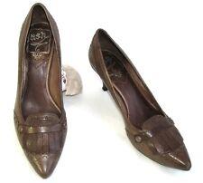ASH Chaussures talons 6 cm tout cuir marron 35 TRES BON ETAT