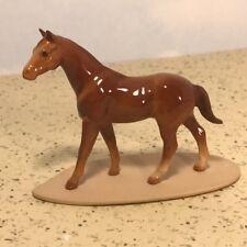 Hagen Renaker Porcelain Vintage Model Horse Figurine Statue Arabian Stallion Usa