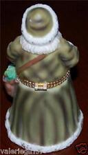 Museum of American Folk Art 1997 Large Porcelain SANTA Hinged Figurine _ Lovely