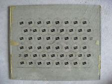 RARE 1950s CN Plus Bottle Cap Factory Printing Plate