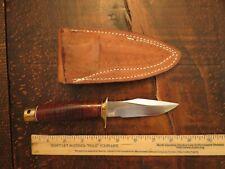 VINTAGE Randall KIT Knife # 8-4 with LEATHER Sheath-RARE KNIFE