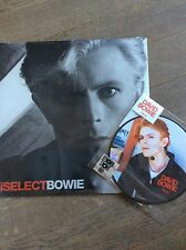 BOWIE- iselect RED vinyl + tvc15 picture disc