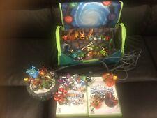 Lot of 30 Skylanders Spyro's Adventure + Giants, Portal, 2 XBox Games, Large Bag