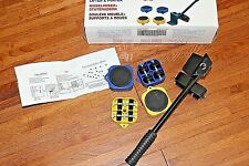 Heavy Furniture Roller Move Tools Shift Transport Mover Lift Slides Kit #320LBS