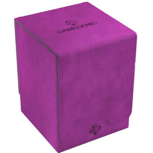 Squire 100+ Card Convertible Deck Box: Purple GameGenic Asmodee NEW
