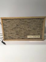 VINTAGE COLUMBIA CLASSIC SPEAKERS FREE US SHIPPING