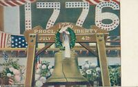 JULY FOURTH – Liberty Bell 1776 Proclaim Liberty July 4th Postcard