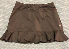 All By Jofit Golf Skirt Tennis Womens Brown Skort Shorts Medium