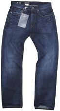 New G-Star RAW Mens Jeans 3301 Loose in Dark Aged Colour Size W:32/L:36