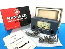 VINTAGE MONARCH STEREO INDICATOR SM-100