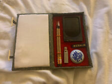 Antique Premium Asian Chinese Calligraphy Japanese Sumi-e ~Set in a Gift Box