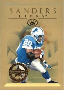 1996 Leaf Gold Leaf Stars #7 Barry Sanders /2500 - NM-MT