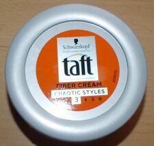 TAFT Fiber cream gel CHAOTIC STYLE SCHWARZKOPF * modeler cheveux * NEUF (gomina)