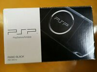 "PSP ""Playstation Portable"" Piano Black PSP-3000PB Sony from japan game Console"